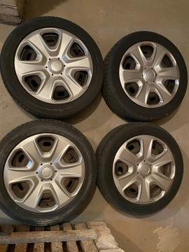комплект диски шина 195/50r15 колпаки ford fiesta7 - фото