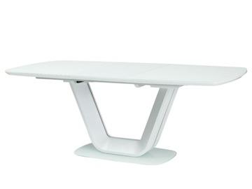 Складной стол ARMANI белый 90x160-220 Signal