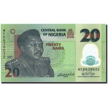 Банкнота, Нигерия, 20 найр, 2007, 2007, KM: 34c, UN