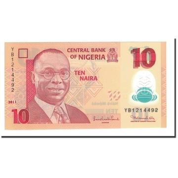 Банкнота, Нигерия, 10 найр, 2009, 2011, KM: 39c, UN