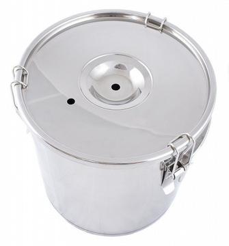 Кастрюля на 18 литров, кастрюля из нержавеющей стали