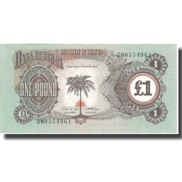 Банкнот, Биафра, 1 фунт, без даты (1968-69), Ундат