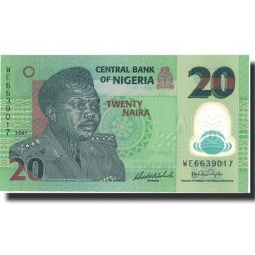 Банкнота, Нигерия, 20 найр, 2007, 2007, КМ: 34b, ООН