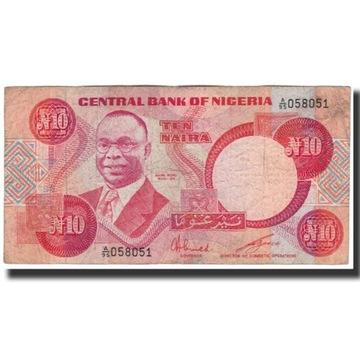 Банкнота, Нигерия, 10 найра, без даты 2005 г., KM: 25a,