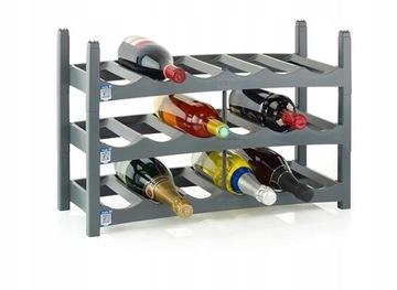 Стеллаж Wine Rack 18 Модульные бутылки ROTHO