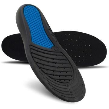 Wkładki do butów roboczych BHP bolące stopy 42-46