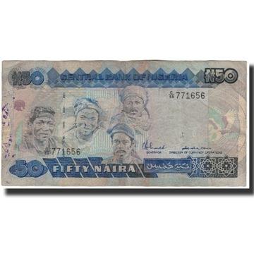 Банкнота, Нигерия, 50 Найра, без даты 2005 г., КМ: 27A,