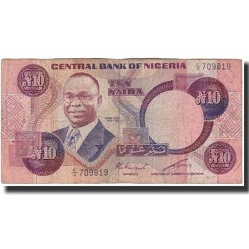 Банкнота, Нигерия, 10 найра, без даты (1979-84), км: