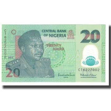 Банкнота, Нигерия, 20 найра, 2013 г., без даты, KM: 34 г,