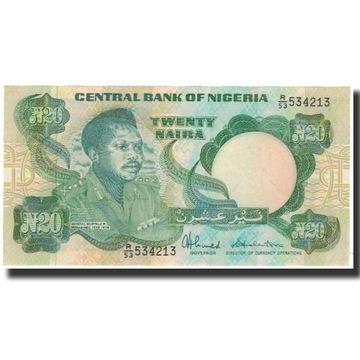 Банкнота, Нигерия, 20 Найра, без даты 2005 г., KM: 26c,