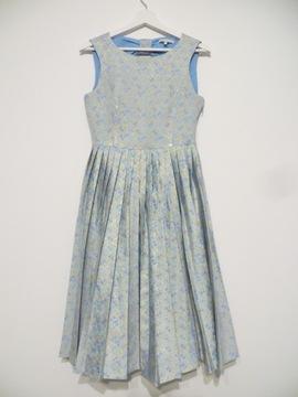 Sukienka damska Mint&Berry 36 niebieska plisy