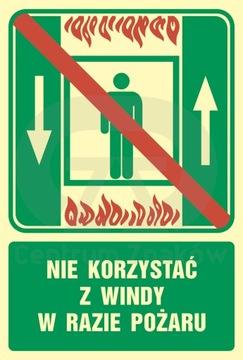 Запрещается использовать кран при пожаре.