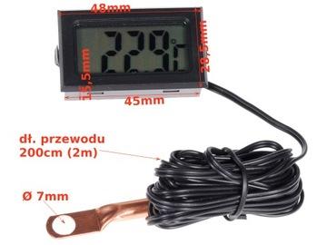 Электронный индикатор температуры двигателя 2t 4t, фото 9