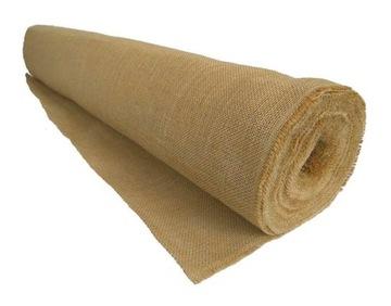 Джутовая ткань ДЖУТ натуральный шириной 100см В МЕТРАХ