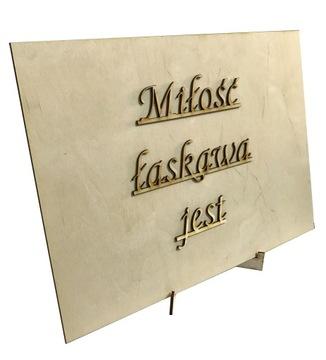 Tabliczki Hymn O Milosci Niska Cena Na Allegro Pl