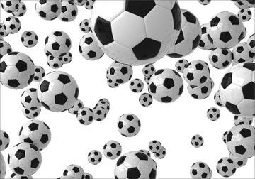 Фотообои 3D футбол футбол, размер FLI