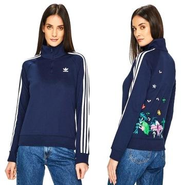 Bluza adidas kwiaty w Bluzy damskie Allegro.pl