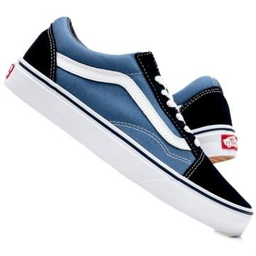 Buty Dziewczyny Trampki Vans Authentic (4 12 Lat) Niebieski