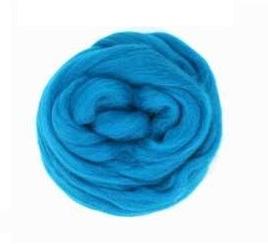 Камвольная шерсть, войлок камвольный 50г, 51 цвет на выбор.