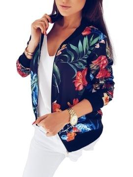 kurtki damskie wiosenne kolorowe