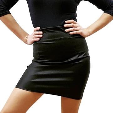 SPÓDNICA OŁÓWKOWA CZARNA ELASTYCZNA w Spódnice i spódniczki