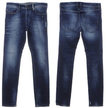 -64% DIESEL TEPPHAR spodnie jeansy 30/32 pas-86cm
