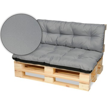 Подушки для поддонов мебельные, скамейка 120х80 + сталь 120х40