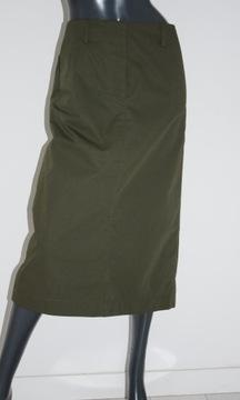 cos bawełniana spódnica khaki 36/38 M