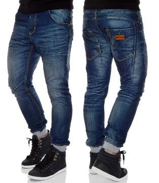 Spodnie męskie ze ściągaczami Spodnie męskie Kolekcja