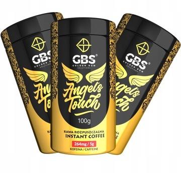 GBS ANGEL'S TOUCH растворимый кофе 3PAK 3x100g.