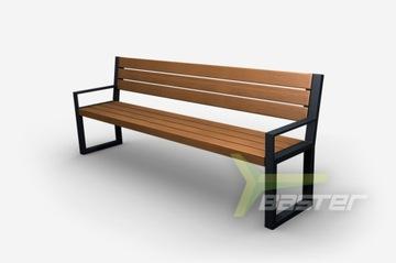 Садовая и парковая скамейка из стали для террасы id.02004A
