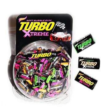 Жевательная резинка X-TREME TURBO 300 шт.