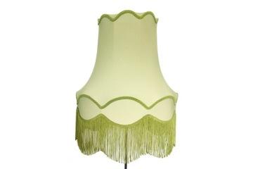 Большой абажур для торшеров и подвесных светильников. Зеленый