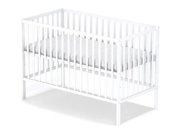 ПРОДВИЖЕНИЕ! STAŚ WHITE классическая детская кроватка b / sz