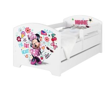 OSKAR BABY BOO 140X70 кровать Disney из пенопласта-кокоса