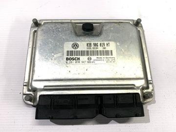 Компьютер Драйвер Двигателя Seat Ibiza 6L 1.9 TDI