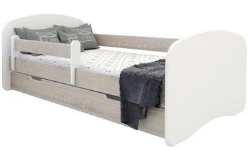 Молодежная кровать 180 x 90 см BOOBOO OAK SONOMA