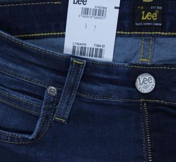 Skinny Fit W36 Lee Jeans Slim Leg Common Blue Power Stretch W34 Malone