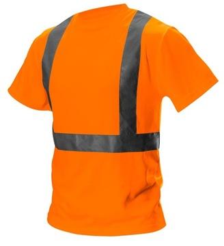 Светоотражающая рабочая футболка размер L NEO