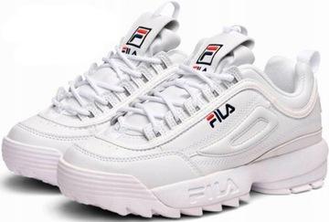 Buty fila białe w Obuwie Stylowe buty na Allegro.pl