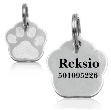 АДРЕСНАЯ СУМКА ИДЕНТИФИКАТОР для собаки или кошки Гравировка