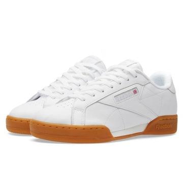 reebok classic leather white gum femme