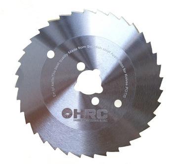 Зубчатое лезвие HRC 80мм для ножа POTIS, DEVRAN