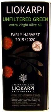5л нефильтрованного оливкового масла Liokarpi