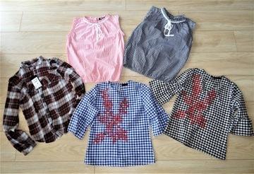 5 ślicznych bluzeczek ~ nowa Mohito ~ xs/s