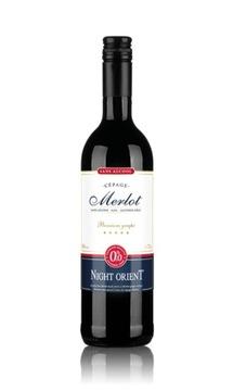 Красное безалкогольное вино Найт Ориент Мерло 0%