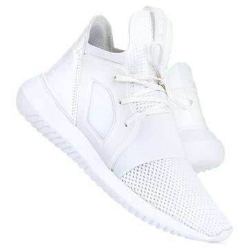 buty adidas tubular szaro-białe dmaskie