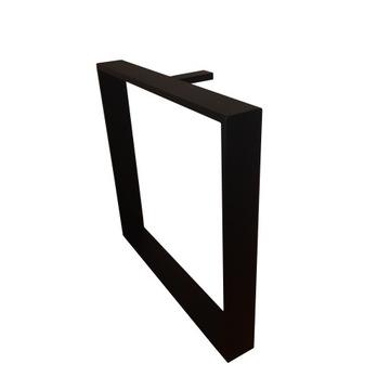 Металлические ножки для стола LOFT 72x80, профиль 10/2