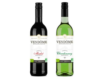 Безалкогольное вино 2x Vendome Mademoiselle 0% BIO