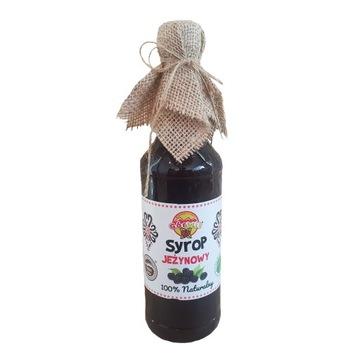 Сироп сока ежевики 100% натуральный без консервантов